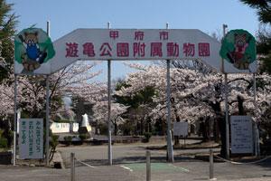 遊亀公園附属動物園入口