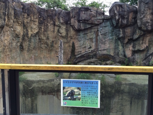 平川動物公園 世界のクマゾーン