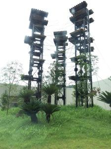 平川動物公園 チンパンジー舎