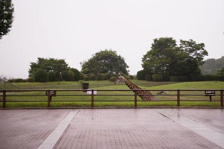 平川動物公園 開園前 入場ゲート