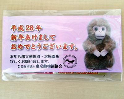 上野動物園 使いすてカイロをプレゼント