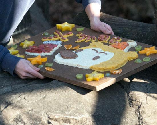 上野動物園 マレーグマ クリスマスケーキ