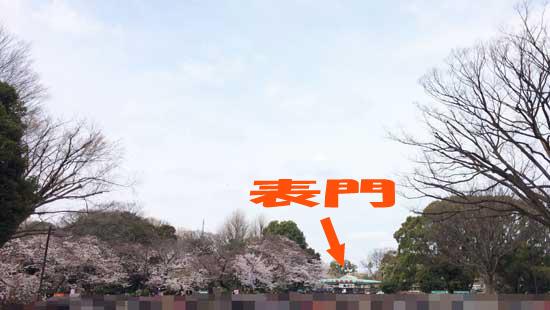 上野公園 上野動物園 表門