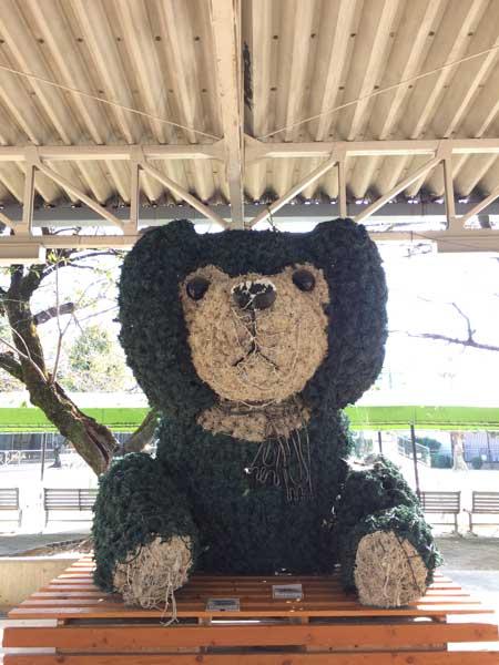 徳山動物園 中央ステージ 電飾ツヨシくん