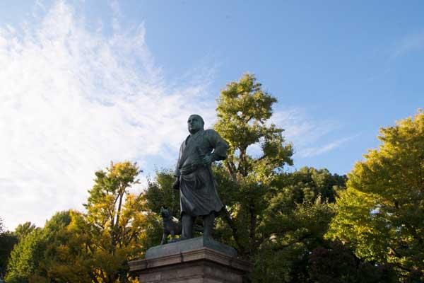 上野公園 西郷像
