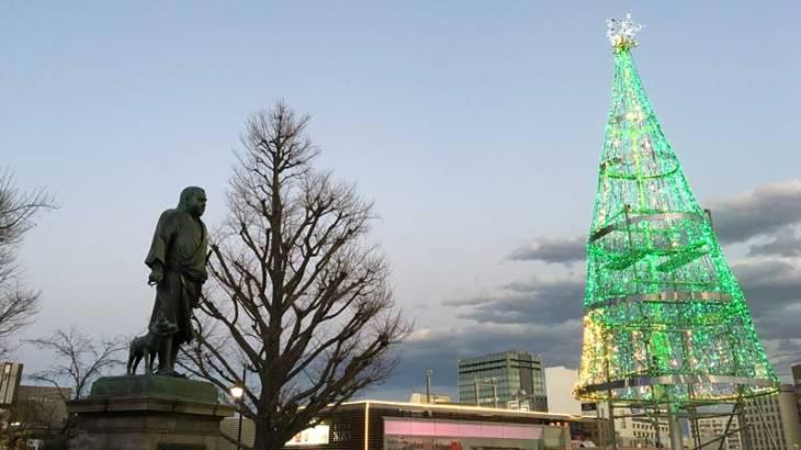上野公園 西郷さん像