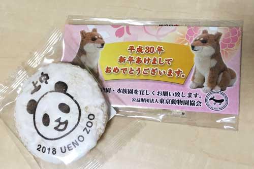 上野動物園 新年イベント