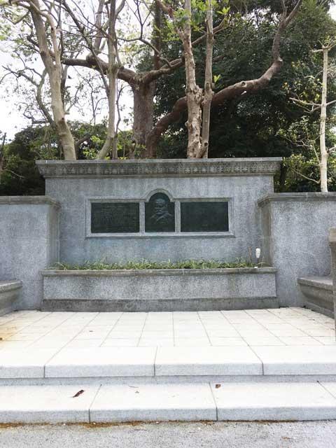 上野公園 グラント将軍植樹碑