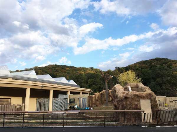 円山動物園 ゾウ舎