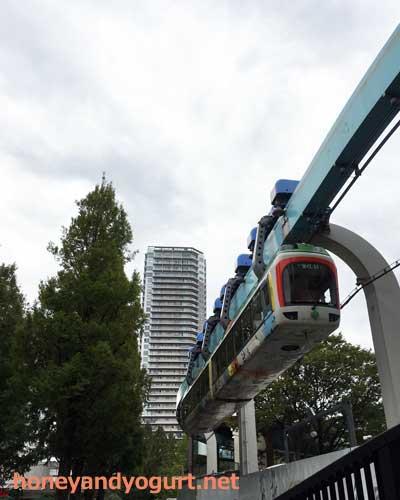 上野動物園 モノレール