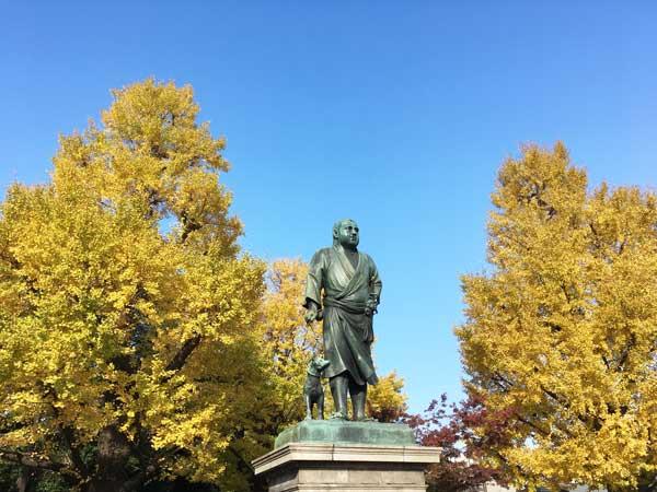 上野公園 西郷隆盛像